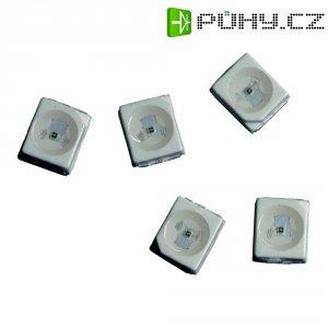 SMD LED PLCC2 Avago Technologies, HSMN-A100-P00J1, 20 mA, 3,4 V, 120 °, 70 mcd, modrá