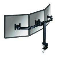 """Stolní držák na 3 monitory, 25,4 - 53,3 cm (10\"""" - 21\"""") NewStar FPMA-D960D3, černý"""