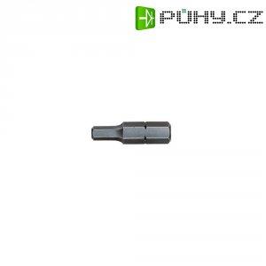 Šestihranný bit Wiha 01704, chrom-vanadová ocel C 6.3, DIN 7426, 2.5 mm, 1 ks