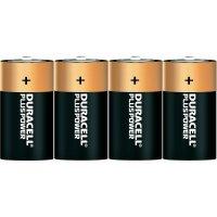 Alkalická baterie Duracell Plus, typ C, sada 4 ks