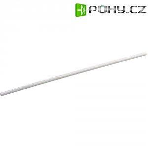 Ozubená tyč z polyacetalu, 250x 4 x 4 mm