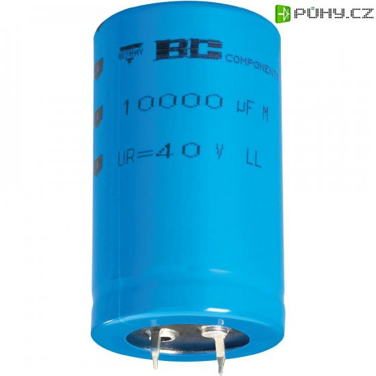 Snap In kondenzátor elektrolytický Vishay 2222 058 58682, 6800 µF, 63 V, 20 %, 50 x 35 mm - Kliknutím na obrázek zavřete