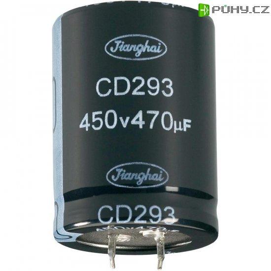 Elektrolytický Snap In kondenzátor Jianghai ECS1CBZ473MT6P23540, 47000 µF, 16 V, 20 %, 40 x 35 mm - Kliknutím na obrázek zavřete