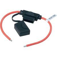 Automobilový pojistkový odpínač standardní plochá pojistka SCI Wire 12AWG R3-47A (red colour), 30 A, 32 V/DC, 1 ks