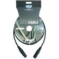 DMX kabel XLR (M) / XLR (F), 6 m
