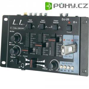 DJ mixážní pult Mc Crypt DJ-20 USB