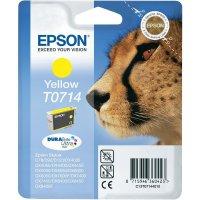 Cartridge do tiskárny Epson T0714, C13R07144011, žlutá