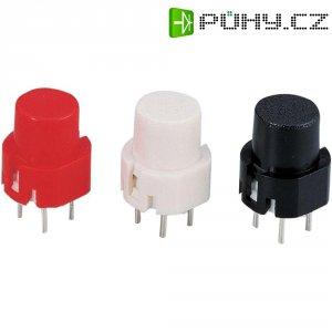Tlačítko B6-R-RT, 35 V/DC, 0.01 A, červená, 1 ks