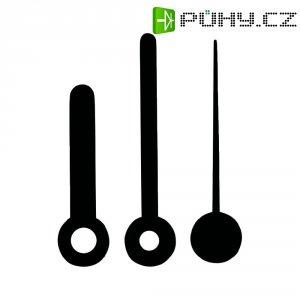 Hliníkové ručičky 38 x 40 x 30 mm, 195757, černá