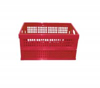 Multibox (přepravka) skládací červená 32l