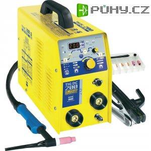 WIG svářečka GYS TIG 200 DC HF FV, 5 - 200 A