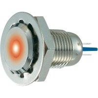 LED signálka GQ12F-D/R/24V/N, IP67, 24 V/DC / 24 V/AC, Nerez, červená