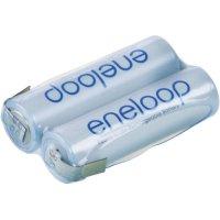 Akupack s pájecími kontakty Sanyo eneloop AA, 2,4 V, 1900mAh