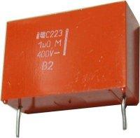 1u/400V C223, svitkový kondenzátor radiální RM=28mm