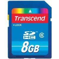 Karta Transcend SDHC 8 GB Class 6
