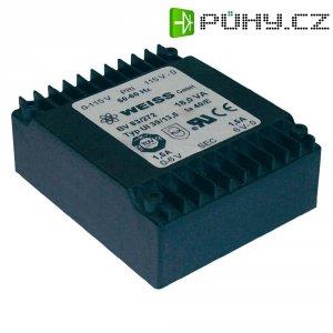 Plochý transformátor, Weiss 18 VA - 2x15 V
