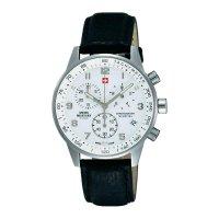 Ručičkové náramkové hodinky Swiss Military Chronograph, 20042ST-2L, gumový pásek