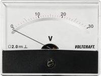 Analogové panelové měřidlo VOLTCRAFT AM-86X65/30V/DC 30 V
