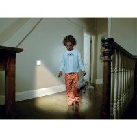 LED noční světlo s pohybovým senzorem OSRAM Nightlux, 0.3 W, barva světla bílá, bílá