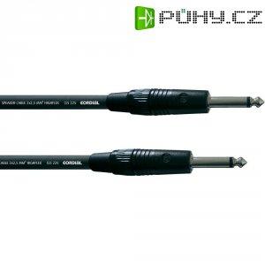 Cordial® CLS 225, 2x 2,5 mm² černá Cordial CPL 20 PP 25, [1x jack zástrčka 6,3 mm - 1x jack zástrčka 6,3 mm], 20 m, černá