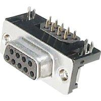 D-SUB zdířková lišta s EMI filtrem Assmann A-DF 25 A/KG-F, 25 pin, úhlový