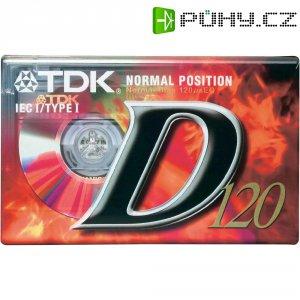 TDK D-120 AUDIOKAZETA