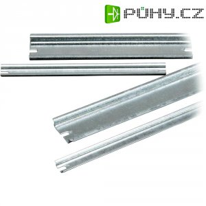 Montážní lišta Fibox DR 210, (d x š x v) 210 x 35 x 7,5 mm (DR 210)