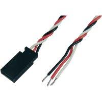 Kabel se zdířkou Futaba, Modelcraft, 0,35 mm², 300 mm