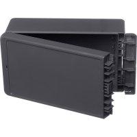 Univerzální nástěnné pouzdro ABS Bopla 96035234, (d x š x v) 125 x 231 x 90 mm, šedá