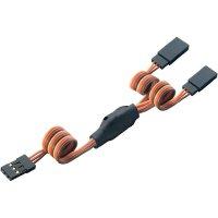Y kabel Modelcraft, konektor JR, 30 cm, 0,08 mm²
