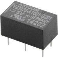 Miniaturní relé P1 monostabilní, 1 x přepínací kontakt TE Connectivity 0-1393774-1, 64 mW