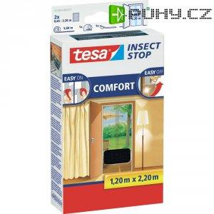 Síťka proti hmyzu do dveří Tesa Comfort, 55389-21, 1,3 x 2,2 m, antracit