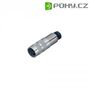 Kabelový konektor s kroužkem Binder 423 (99-5126-15-07), 7pól., 0.75 mm², 4 - 6 mm, IP67