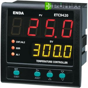 Panelový PID termostat Suran Enda ETC9420, 230 V/AC