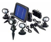 Svítidlo LED - solární bodové Trio s PIR čidlem