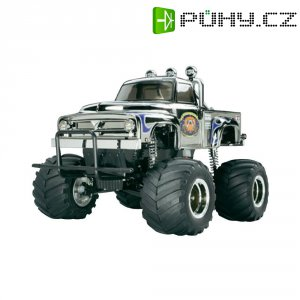 RC model EP Monstertruck Tamiya Midnight Pumkin, 1:12, 2WD, stavebnice