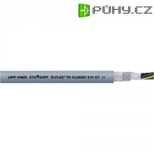 Vysoce flexibilní PVC řídící vodič, průřez 5 x 1,5 mm²