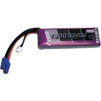 Akupack LiPol Hacker, 7,4 V, 1300 mAh, 25 C, EC3 / XH