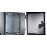 Svorkovnicová skříň, ocelový plech, Rittal 1556500, (š x v x h) 300 x 400 x 120 mm, šedá