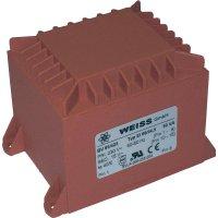Transformátor do DPS Weiss Elektrotechnik 85/426, 50 VA, 2 x 6 V, 4.17 A