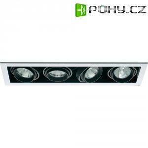 Halogenové vestavné světlo Sygonix Launet, 4x 50 W, GU5.3, černá/bílá