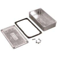 Univerzální pouzdro hliníkové Hammond Electronics, (d x š x v) 250 x 250 x 100 mm, hliníková