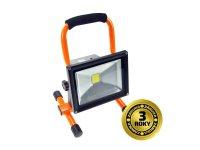LED reflektor 20W, přenosný, nabíjecí, 1600lm, oranžovo-černý WM-20W-D SOLIGHT