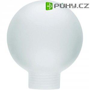 Stínítko pro žárovku, skleněné , kulatý tvar mini, saténové