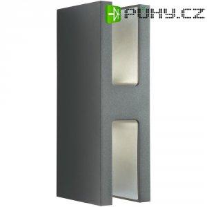 Venkovní nástěnné LED svítidlo Philips 168199316, 2x 7,5 W, antracit