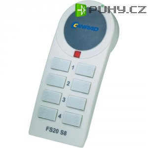 Bezdrátové dálkové ovládání FS20 S8