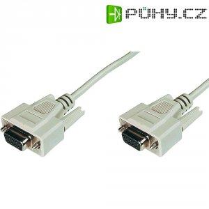 Sériový kabel D-SUB zásuvka ⇔ zásuvka, 2 m