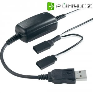 Modelářská USB nabíječka, Futaba/JR, 2 A
