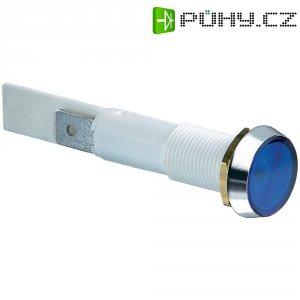 LED signálka Arcolectric C0275OSMAD, montáž do panelu, 230 V/AC, modrá