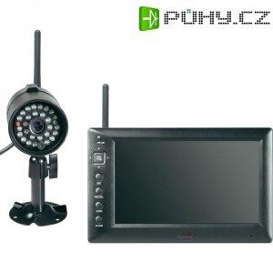 Bezdrátová venkovní kamera s monitorem, 2,4GHz, 800 x 480 px